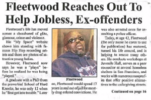 Read more about the article Fleetwood Reaches Out to Help Jobless, Ex-offenders